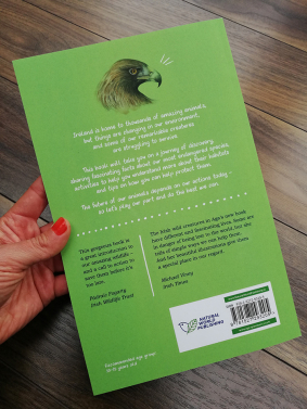 Remarkable Creatures: a guide to some of Ireland's disappearing animals_book by Aga Grandowicz_back cover