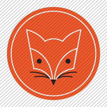 Predesigned animal logo – Fox