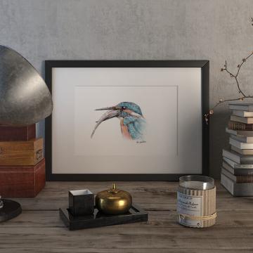 Kingfisher #2 – original artwork